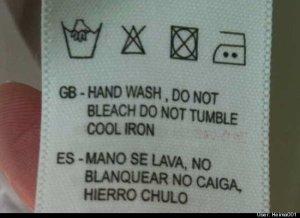 wash tag